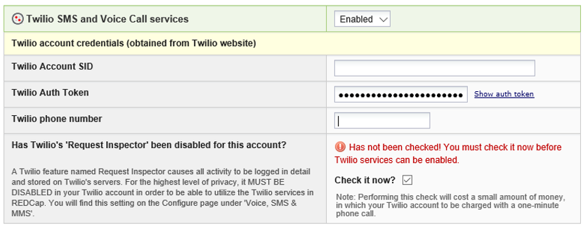 Twilio SMS and Voice Call Services for Surveys - BMIC - CHPC